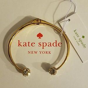 🎁 NEW Kate Spade Lady Marmalade Gold Bracelet